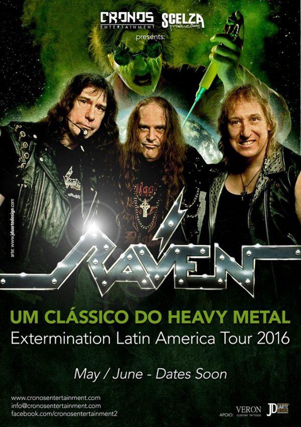 RAVEN CARTAZ TOUR 2016