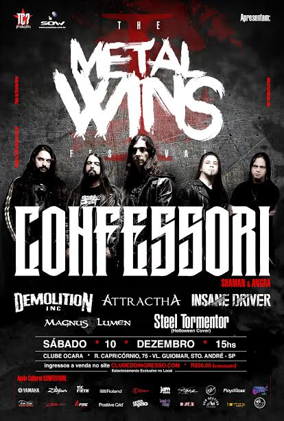 THE METAL WINS FEST cartaz